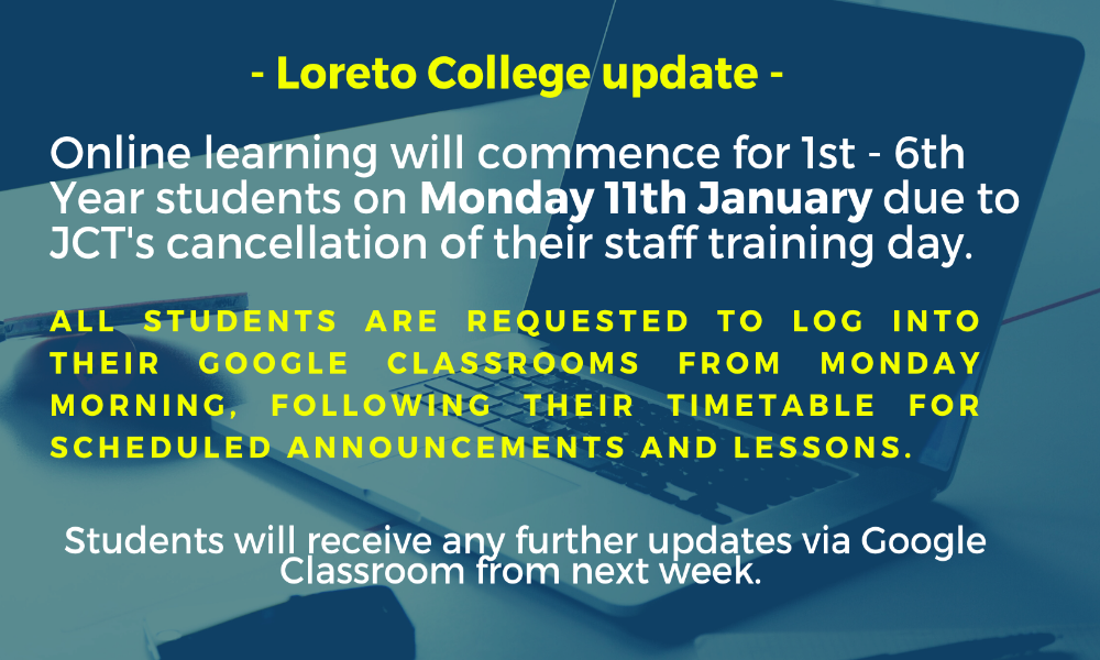 Update: Online Learning in January