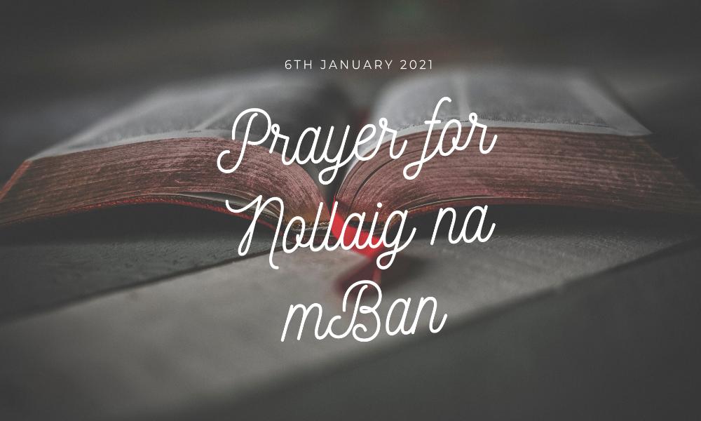 Prayer for Nollaig na mBan