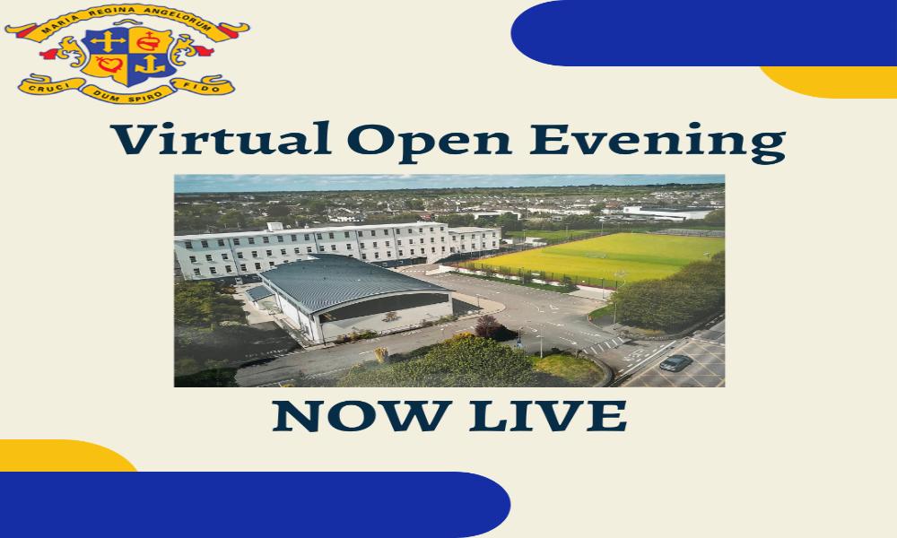 Virtual Open Evening and School Brochure Launch
